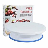 Подставка поворотная для торта с силиконовой вставкой Сake (200409)