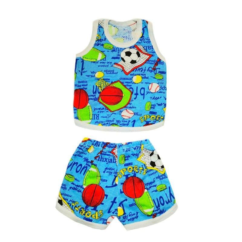 Дитячий комплект для дівчинки борцовка і шорти кулір кольоровий