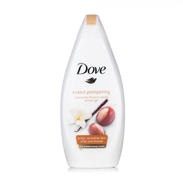 Крем-гель для душа Dove Масло ши и пряная ваниль, 500 мл