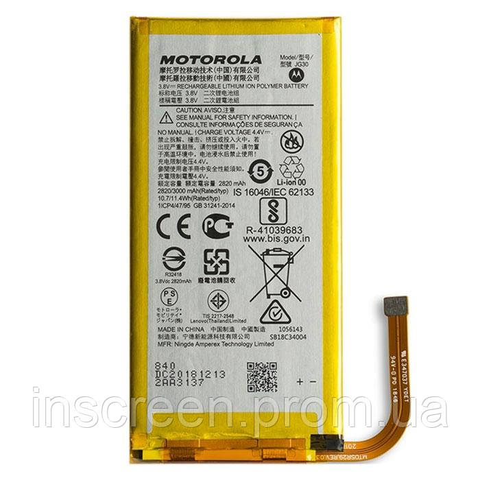 АКБ (Аккумулятор) Motorola JG30 для XT1962 Moto G7 2900mAh, фото 2