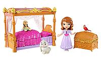 Набор София Прекрасная и Королевская кровать. Disney Sofia The First Royal Bed Playset
