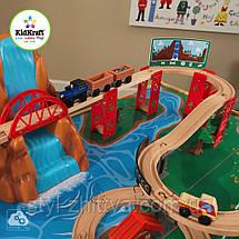 Високогірна залізниця дерев'яна зі столом Kidkraft 18001, фото 2