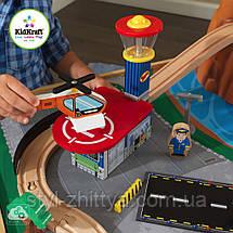 Високогірна залізниця дерев'яна зі столом Kidkraft 18001, фото 3