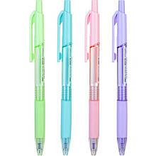 Ручка кулькова Deli EQ199-BL синій Xtream 0,7 автомобілем, гумовий грип, асс корпус