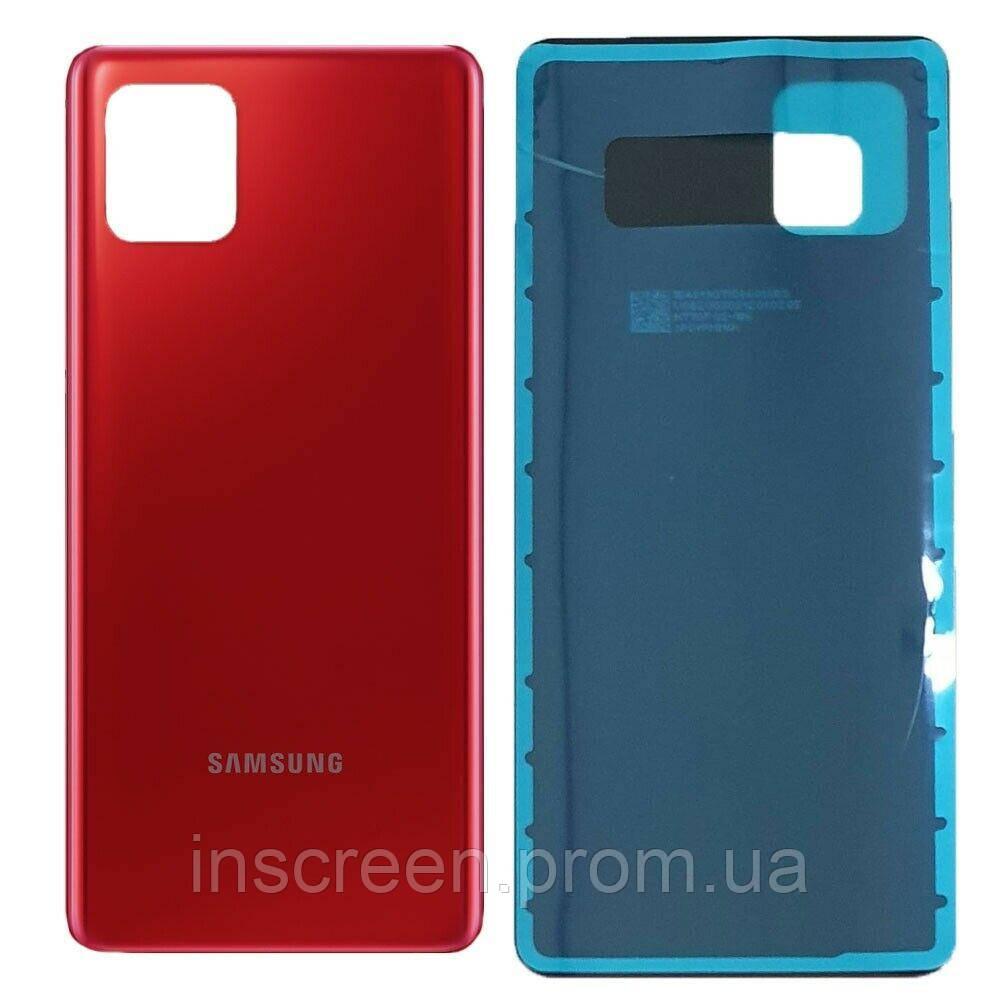 Задня кришка Samsung N770F Galaxy Note10 Lite 2020 Aura Red червона