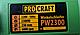 Кутова шліфувальна Машинка PROCRAFT PW-2300 230 мм (плавний спуск, поворотна ручка), фото 2