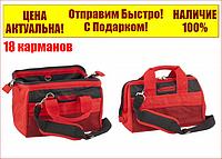 Сумка для инструмента 18 карманов  320 мм х 215 мм х 250 мм MTX 90259, фото 1