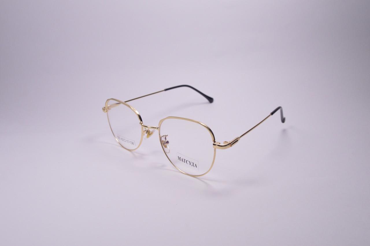 Стильные очки для работы за компьютером MATSUDA Blue Blocker (523 з)