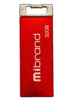"Флеш-пам`ять 32GB ""Mibrand"" Сhameleon USB2.0 red №1461"