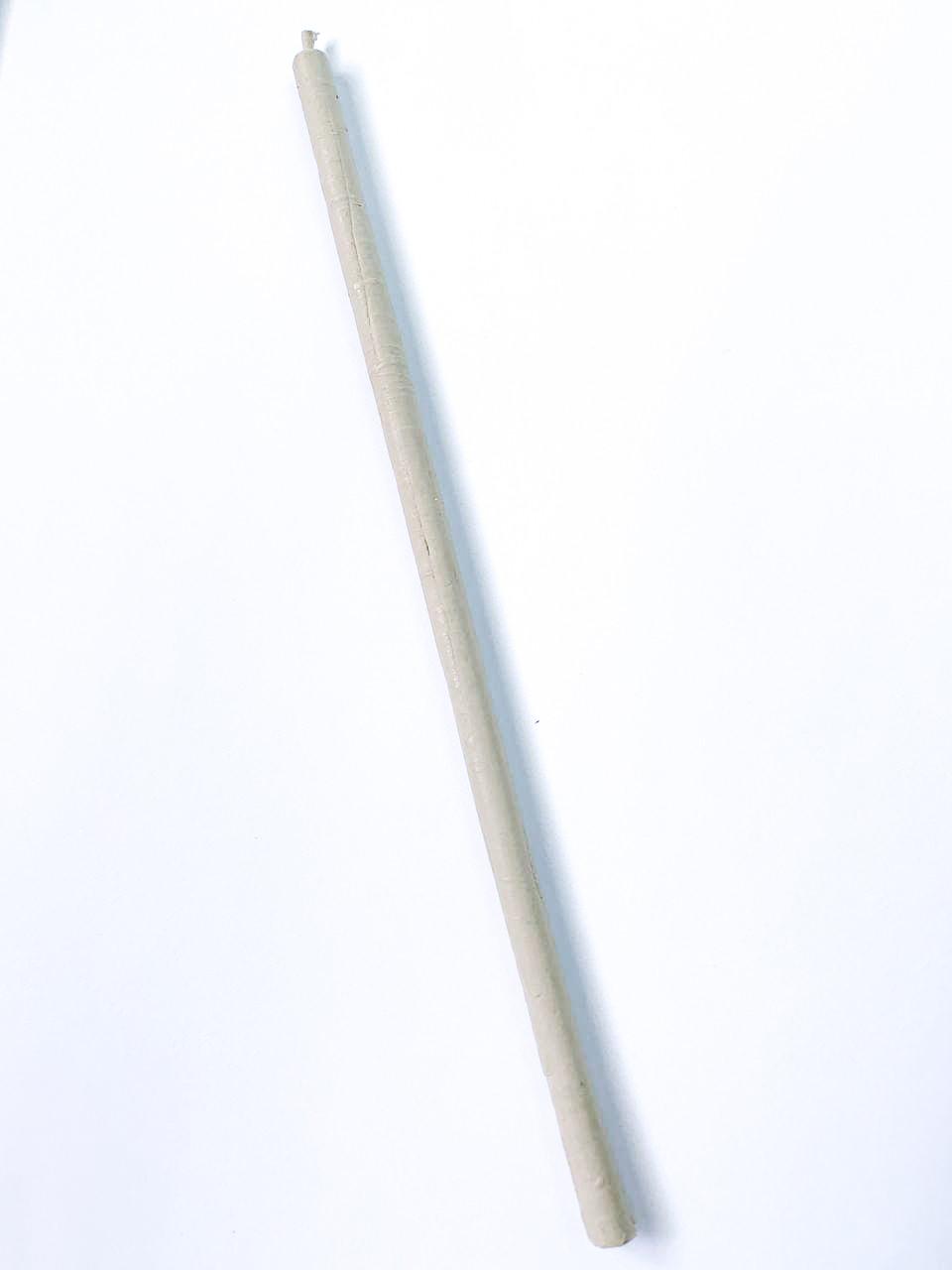 Воскова Свічка тонка білого кольору