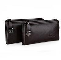 Мужское кожаное фирминное портмоне Polo - барсетка на руку, фото 1