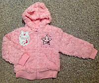 Меховая кофта для девочки 2 года, фото 1