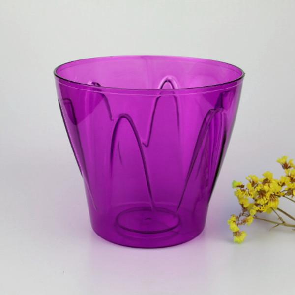 Кашпо для орхидей Аркада 2 л фиолетовый