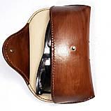 Кожаный  футляр чехол для очков Rayban Polaroid окуляри футляр для окулярів, фото 5