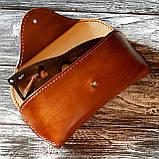 Шкіряний футляр чохол для окулярів Rayban окуляри Polaroid футляр для окулярів, фото 9