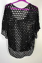 Блуза сітка вільного фасону (Е-287), фото 2