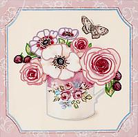 """Схема для вышивания бисером на подрамнике (цветы) """"Любимый букет-1"""""""