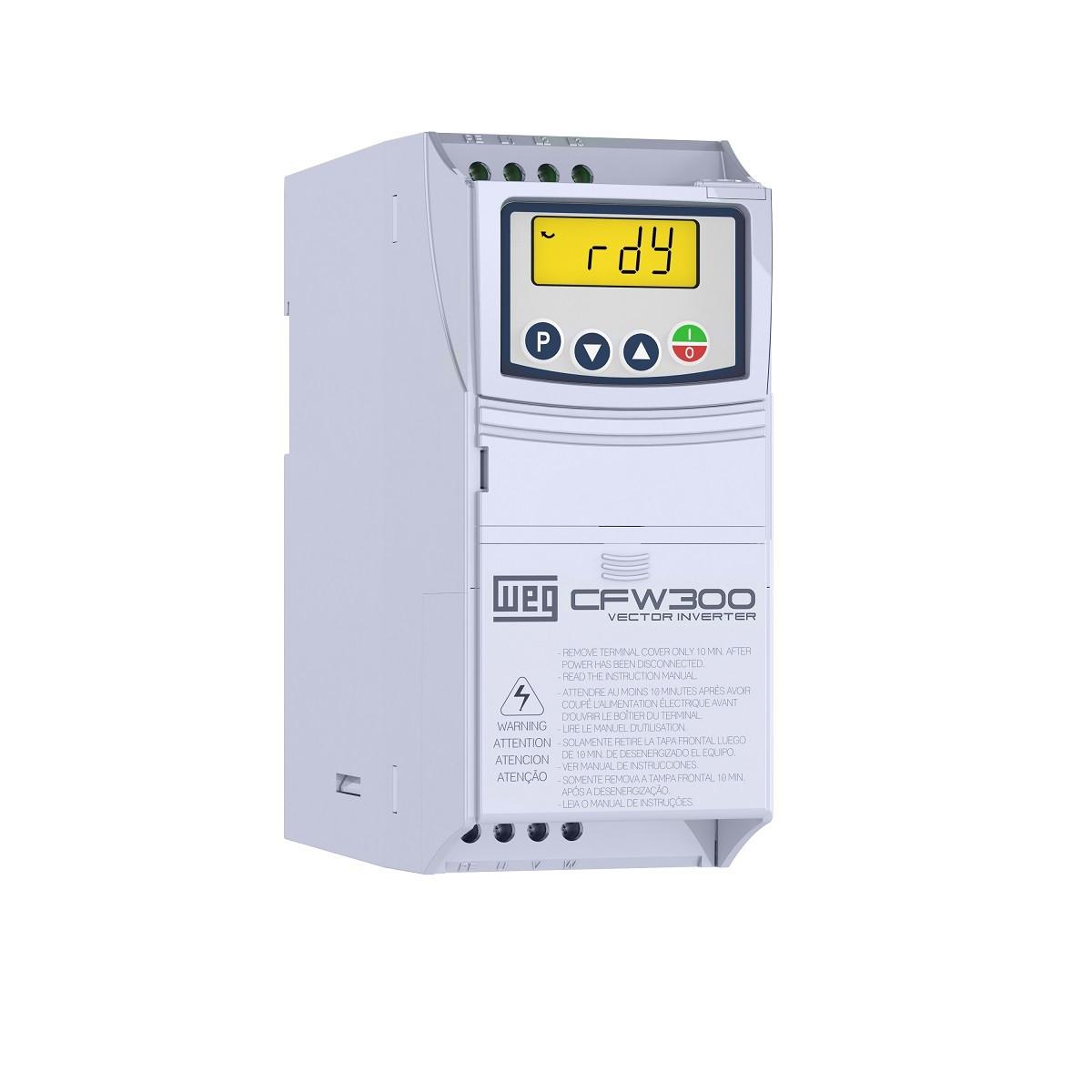 Перетворювач частоти WEG 8,2 А 4кВт 380В 3ф CFW300 B 08P2 T4 NB20 4658312