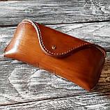 Шкіряний футляр чохол для окулярів Rayban окуляри Polaroid футляр для окулярів, фото 10