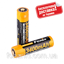 Акумулятор 18650 Fenix 3400 mAh ARB-L18-3400