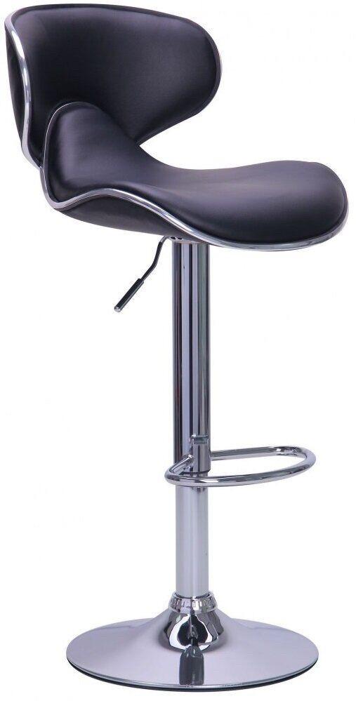 Барный стул со спинкой Bonro B-678 коричневый (40080034)