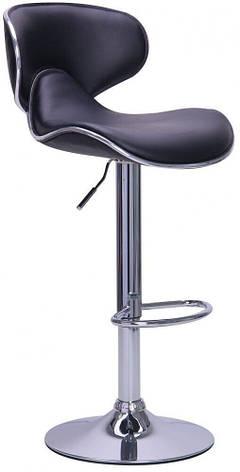 Барний стілець зі спинкою Bonro B-678 коричневий (40080034), фото 2