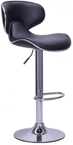 Барный стул со спинкой Bonro B-678 коричневый (40080034), фото 2