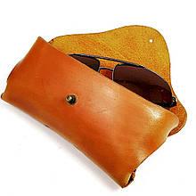 Кожаный футляр чехол для очков Rayban Polaroid футляр для окулярів окуляри чохол