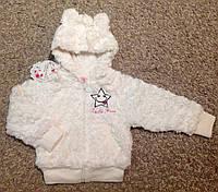 Меховая кофта для девочки 1-5 лет , фото 1