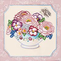"""Схема для вышивания бисером на подрамнике (цветы) """"Любимый букет-3"""""""