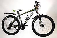 """Велосипед Hammer S200 26"""" черно-зеленый, фото 1"""