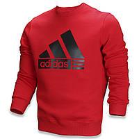 Свитшот мужской красный ADIDAS с лого RED M(Р) 20-412-011
