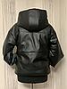 Демисезонная женская куртка модная из экокожи, фото 4