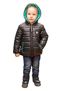 Двухстороння куртка для хлопчика