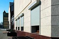 Роллетные гаражные ворота Алютех серии Prestigе 3500х2000 механические со встроенным монтажом, фото 1