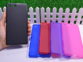 Силиконовый TPU чехол для Sony Xperia M5 E5603