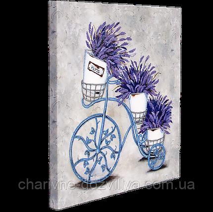 """Схема для вышивания бисером на подрамнике """"Феерия цветов-1"""", фото 2"""