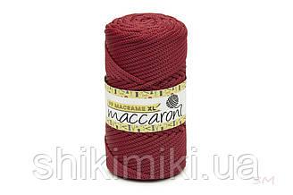 Трикотажный шнур PP Macrame Medium, цвет Рубиновый