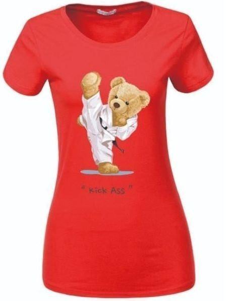 Женская футболка с мишками
