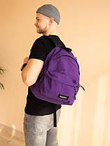 """ОРИГИНАЛ! Рюкзак EASTPAK """"Фиолетовый"""", фото 3"""