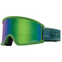 Удобные лыжные очки и маска сноубордическая Dragon DX3 OTG light moss горнолыжная маска на очки Lumalens