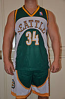 Баскетбольная форма команды Сиэтл Суперсоникс