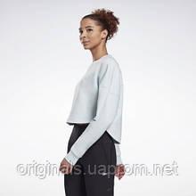 Свитшот женский Reebok DreamBlend Cotton Midlayer W GI6748 2021