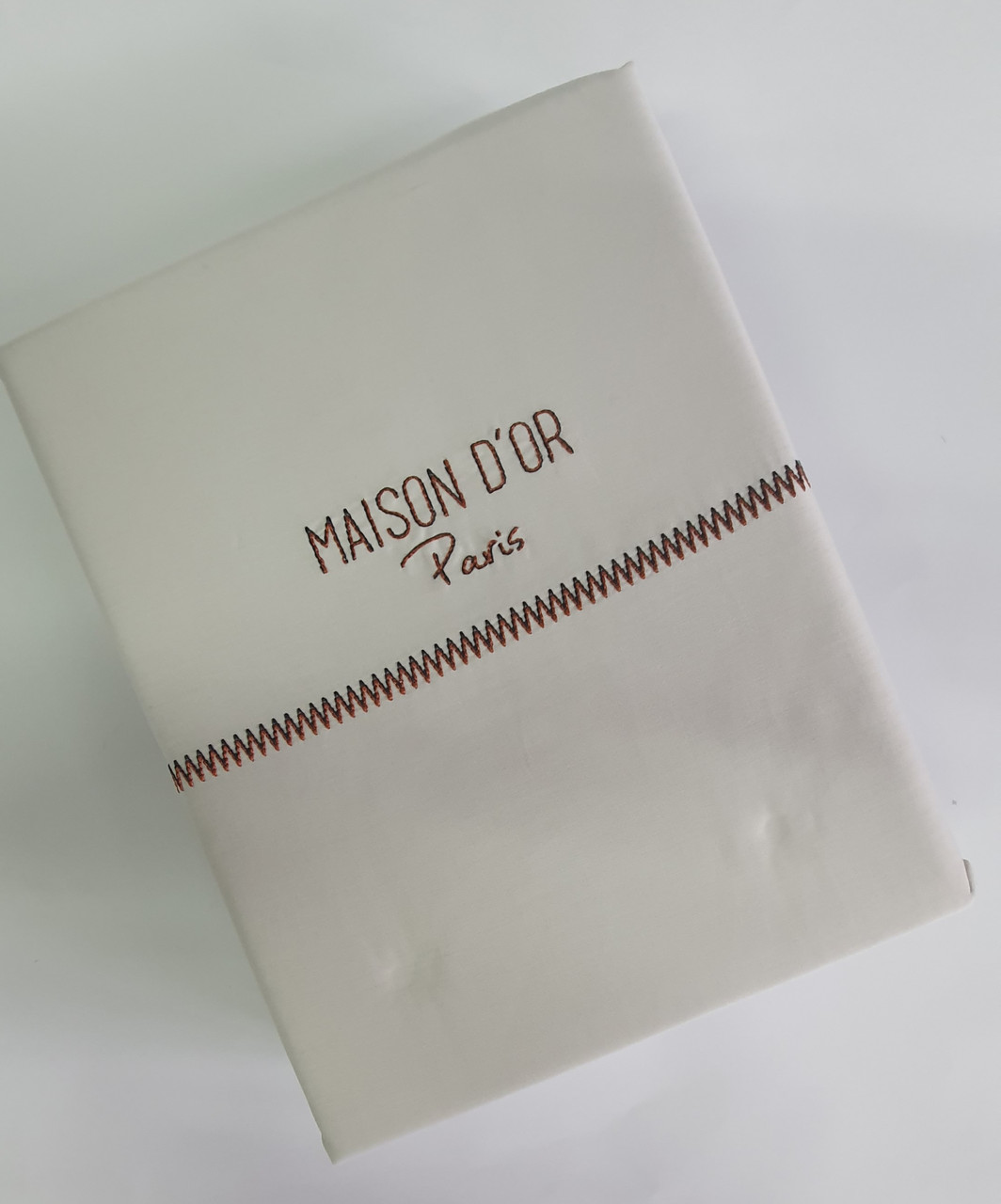 Постільна білизна Maison d'or преміум сатин 200х220 Grey