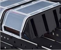 Контейнер с крышкой черный 195*120*90 мм