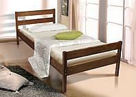 """Ліжко SKY-2 """"Під матрац: 800*1900  висота узголів'я 680 мм, узніжжя - 500 мм""""коньяк"""