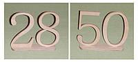 Цифры двойные на подставке