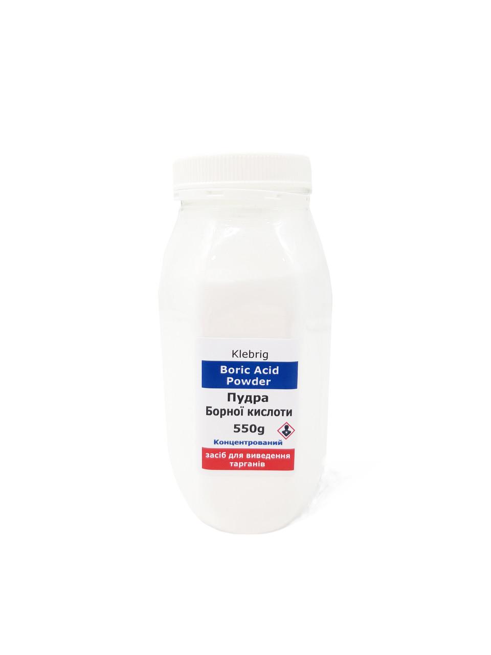 Пудра Борної кислоти 550г від шкідників тарганів