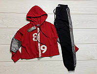 Спортивний костюм для дівчаток. 110 - 122 зростання