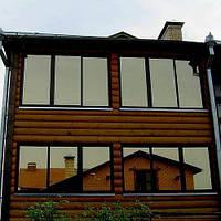 Энергосберегающая зеркальная пленка для окон зеркало тонировка окна